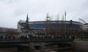 Estadio Vicente Calderón: Ravelo.