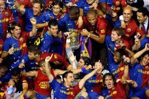 2009 fue un año glorioso para el Barça: EFE.