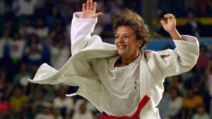 Miriam Blasco celebra su victoria final: RTVE.