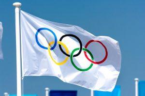 Bandera olímpica.