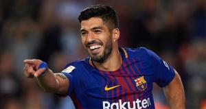 Luis Suárez celebra un gol con el Barça: EFE.