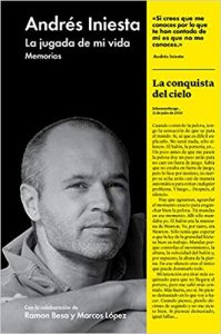 "Portada de ""La jugada de mi vida: Memorias"", de Andrés Iniesta."
