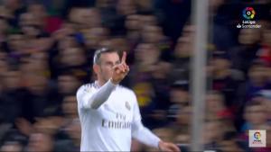 Cuando Bale marcó gol, sabía que lo iban a anular por fuera de juego: You Tube.