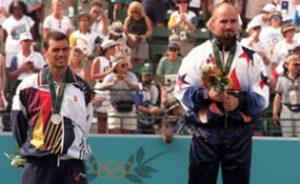 Sergi Bruguera, plata, y Andre Agassi, oro en los Juegos Olímpicos de Atlanta 96: EFE.