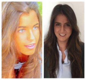 Cristina e Irene, las hermanas falsa y verdadera respectivamente de Sara Carbonero: Internet/Linkedin.