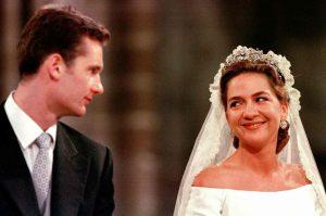 Iñaki Urgangarín y la infanta Cristina el día de su boda: Gtres.