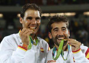 Rafa Nadal y Marc López, los últimos héroes del tenis olímpico español, oro en Río 2016: EFE.