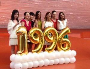 Las Niñas de Oro fueron homenajeadas en Badajoz, ciudad de Nuria Cabanillas, 20 años después de haberse proclamado campeonas olímpicas: Foto cedida por Marisa Mateo.