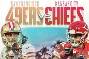 El mayor evento del fútbol americano es la final de la Super Bowl y este año enfrentará a San Francisco 49ers y Kansas City Chiefs.