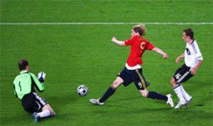 Fernando Torres en la Eurocopa 2008: EFE.