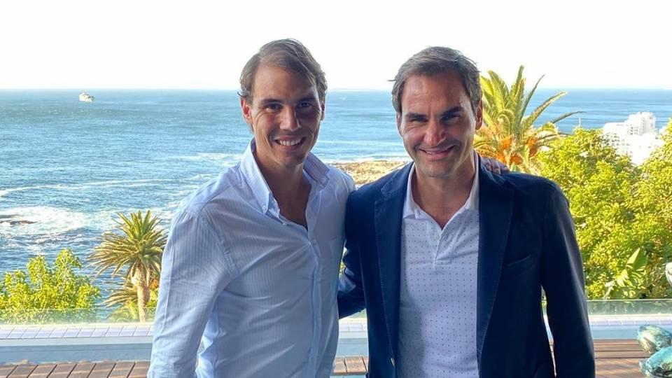 """En """"De Rafael a Nadal"""" es imposible no hablar de Roger Federer: Instagram."""