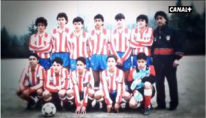 Francisco de Paula entrenaba al Cadete A del Atlético de Madrid cuando este se proclamó campeón de España en 1992: Canal +.