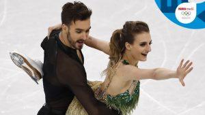Gabriella Papadakis y Guilllaume Ciceron llevan a sus espaldas en patinaje en danza cinco Europeos y cuatro Mundiales y actualmente son los vigentes subcampeones olímpicos: You Tube.