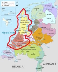 Rotterdam, ciudad que acoge este año Eurovisión, pertenece a Holanda Meridional: Wikipedia.