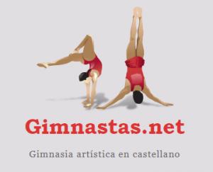 Logotipo del portal Gimnastas.net.