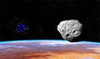 Vista del asteroide Rafael Nadal desde el espacio: Agencias.