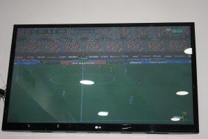 El Son Moix utilizó animación virtual en las gradas durante el Mallorca 0-4 Barcelona para que el partido no pareciera tan triste: Ravelo.