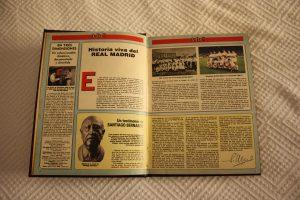 "Aí es ""Historia viva del Real Madrid"" por dentro: Ravelo."