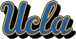 Logotipo de la Universidad de California en Los Ángeles, UCLA.
