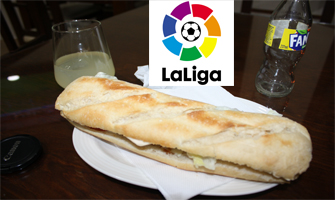 Puede haber fútbol todos los días, pero bocadillos y fritos en el bar todos los días...: Ravelo.