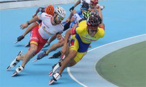Prueba de 10.000 metros masculinos en los World Roller Games de Nanjing 2017: RFEP.