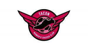 Logotipo del C.D. Tacón, equipo predecesor del Real Madrid Femenino.
