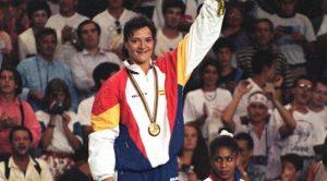 Miriam Blasco en el escalón más alto del podio de Barcelona 92: Agencias.