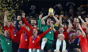 España, campeona del Mundo en Sudáfrica 2010: Elegante Sport.