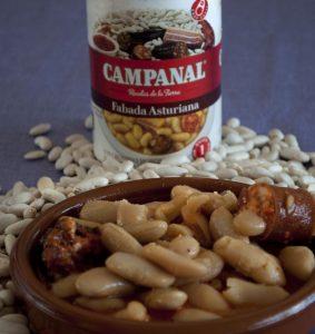 Fabada asturiana Campanal: Pinterest.