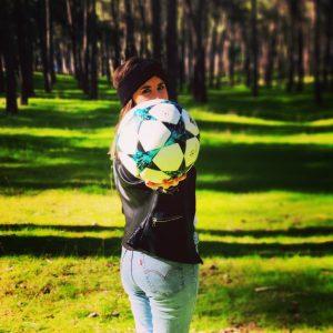 El fútbol mueve masas, mueve pasiones: Foto cedida por Tania Martín.