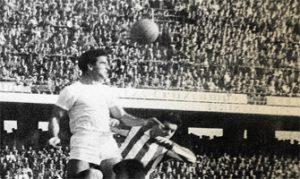 Marcelo Campanal en su época como sevillista: Archivo Agencias.