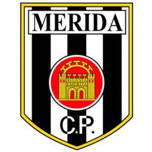 Escudo del desaparecido Club Polideportivo Mérida.