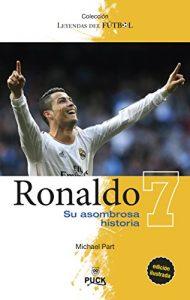 """Portada del libro """"Ronaldo: su asombrosa historia"""": Puck."""