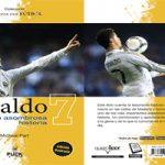 """Portada y contraportada de """"Ronaldo: su asombrosa historia"""": Puck."""