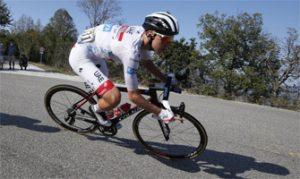 Tadej Pogacar en el Tour de Francia: EFE.