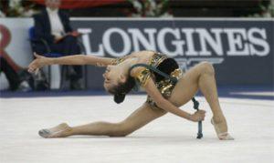 Jennifer Colino en un ejercicio de cuerda: Agencias.