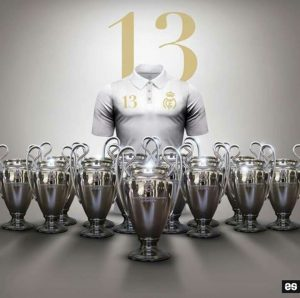 Las 13 Champions del Real Madrid: Pinterest.