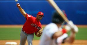 En béisbol no existen reglas para el lanzamiento de la pelota: Getty Images.