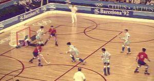 El hockey-patines participó en Barcelona 92 como deporte de exhibición y la selección española ganó la plata: Agencias.