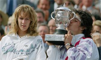 Arantxa Sánchez Vicario ganó su primer Roland Garrós frente a Steffi Graff en 1989: Agencias.