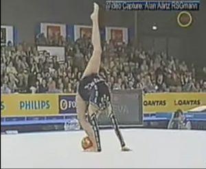 Alina Kabaeva en los Goodwill Games 2001: You Tube.