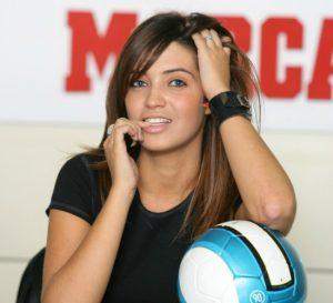 Sara Carbonero en sus tiempos de Radio Marca: Marca.