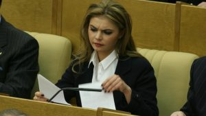 Alina Kabaeva en su faceta política: Agencias.