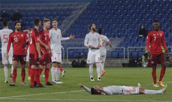 La selección española de Luis Enrique demostró ante Suiza que debe mejorar en muchos aspectos: As.