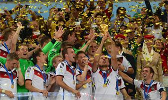 La selección alemana, campeona del Mundo en Brasil 2014: Marcello Casal Jr.