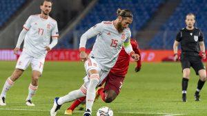 Sergio Ramos jugó contra Suiza un partido para olvidar: RTVE.