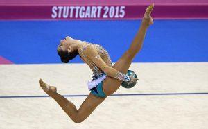 Carolina Rodríguez en el Mundial de Stuttgart 2015: AFP.
