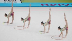 Turquía, oro en el ejercicio mixto en el Campeonato de Europa de Gimnasia Rítmica 2020: Eurosport.