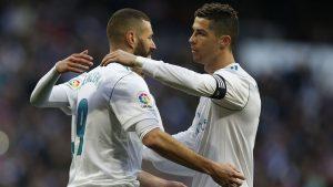 Karim Benzema y Cristiano Ronaldo juntos en el Real Madrid: EFE.
