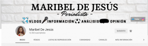 Cabecera del canal: You Tube.